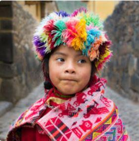 Peruvian child--photo by Blake Bullwinkel '20 (first prize winner of WS 2018 photo contest)