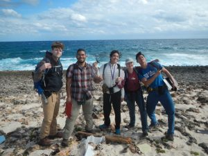 GEOS 22 Geosciences Research in Northern Eleuthera group picture
