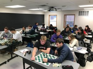 students playing chess--STAT 19 Chess, Speed Chess, Bughouse (WS 2018)