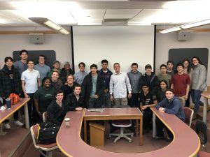 group photo--ECON 10 A Practitioner's Overview of Securities Markets and Investment Banking (WS 2019)