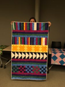 quilt project--ECON 27 Quilting Inspired by Gee's Bend (WS 2019)