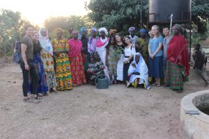 group photo--WGSS 25 Community Mobilization in Senegal for Public Health and Economic Empowerment (WS 2019 travel)